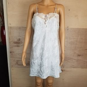 Vintage Lace Floral California Dynasty Nightgown